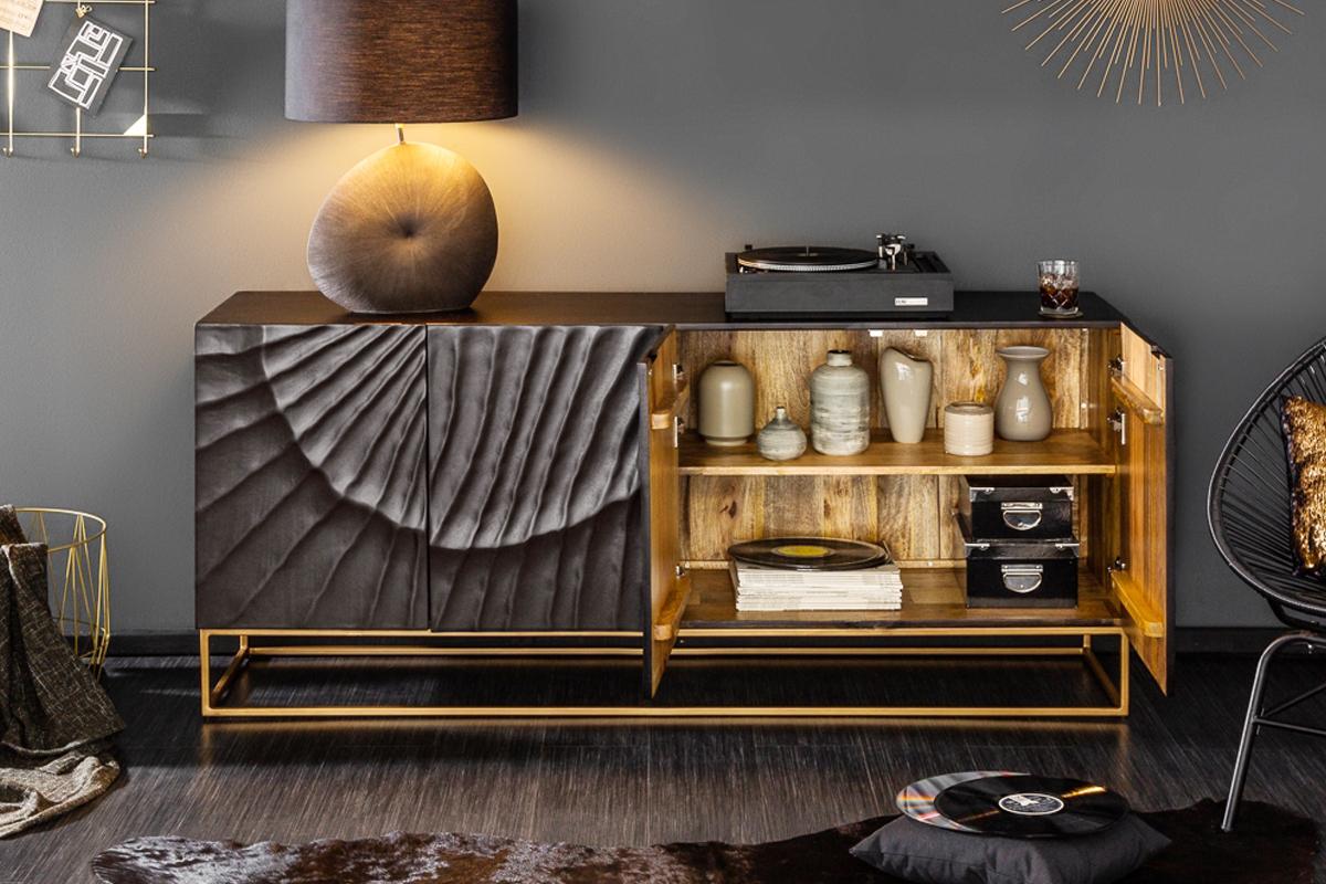 CAIRO Sideboard Mangoholz 3D